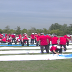 南京团建:团队巨画